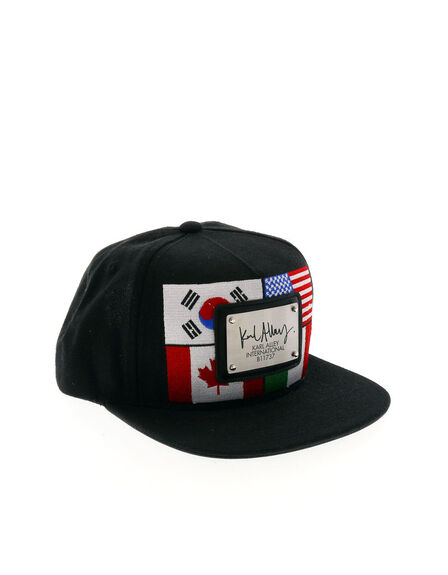 KARL ALLEY - Karl Alley World Flags Brushed Snapback Cap