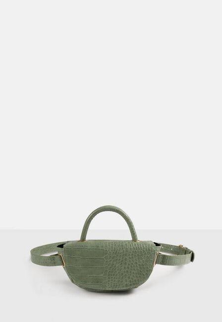 Missguided - Green Sage Top Handle Belt Bag