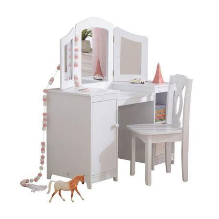 KIDKRAFT - Kidkraft Deluxe Vanity & Chair
