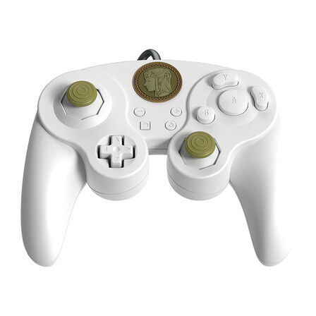 PDP - PDP Legend Of Zelda Wired Fight Pad Pro White for Nintendo Switch