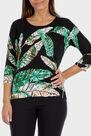 Punt Roma - Leaf printed sweater