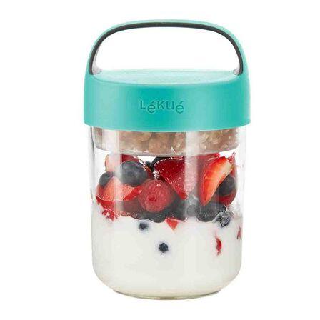 LEKUE - Lekue Jar To Go 14oz/400ml Mint