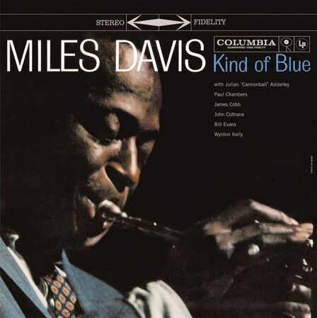 COLUMBIA - Kind of Blues Blue Coloured Vinyl | Miles Davis