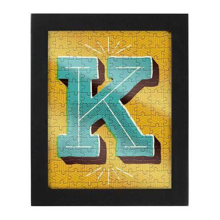 RIDLEYS - Ridleys Alphabet Jigsaw Puzzle with Frame Letter K
