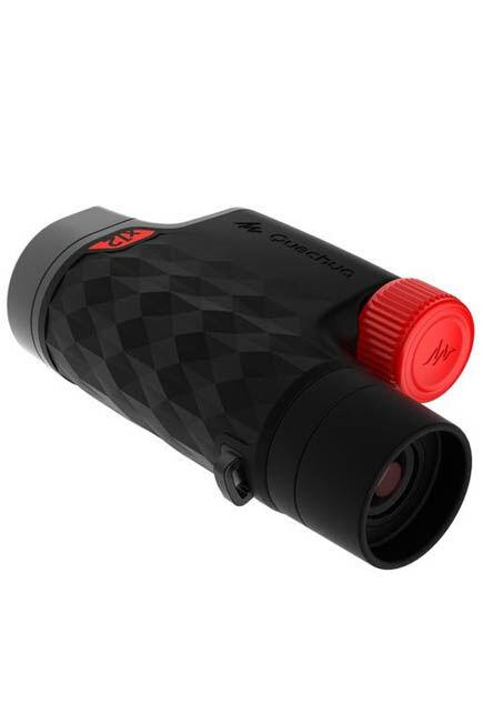 QUECHUA - MH M 560 Adjustable Adult Hiking x12 Magnification Monocular - Black, Unique Size