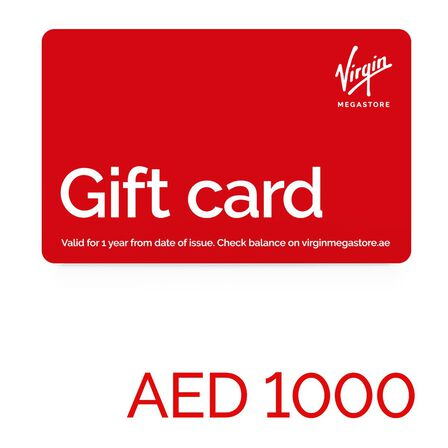 null - Virgin Megastore Gift Card - 1000 AED