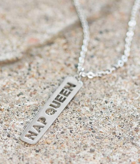 JAECI DESIGNS - Jaeci Nap Queen Necklace Silver