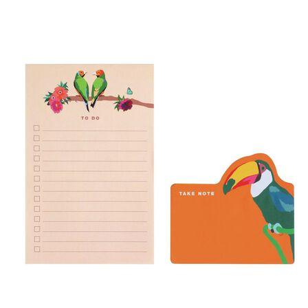 EMILY BROOKS - Emily Brooks Memo Notes Birds [Set of 2]