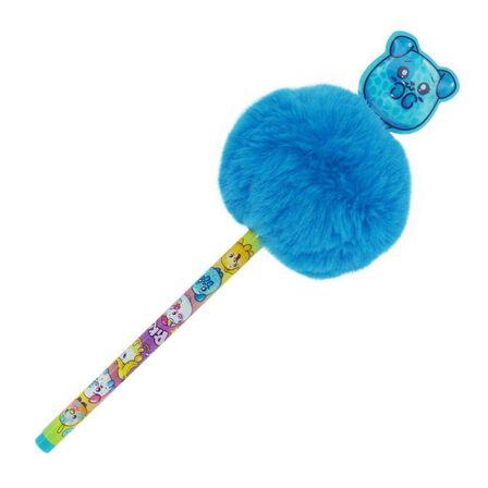 BLUEPRINT COLLECTIONS - Pikmi Pops Ballpen with Pom-Pom & PVC Patch