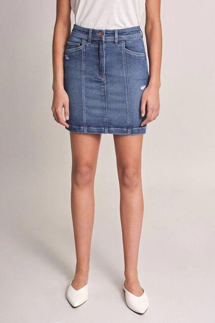 Salsa Jeans - Blue Push In Secret Glamour miniskirt