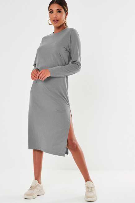 Missguided - BASIC TSHIRT DRESS MI