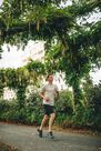 KALENJI - Small  Run Dry+ Men's Running Long Shorts With Integrated Undershorts, Black