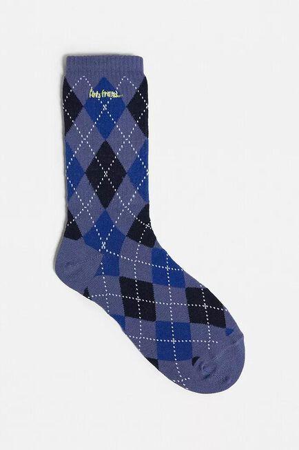 Urban Outfitters - Blue iets frans... Argyle Socks, Men