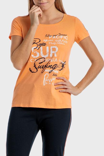Punt Roma - Orange t-shirt