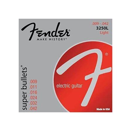 FENDER - Fender 3250LR Super Bullets Electric Guitar Strings 9-42