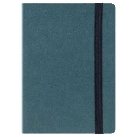 LEGAMI - Legami Small Weekly Diary With Notebook 18 Month 2018/ 2019 Petrol Blue