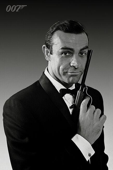 PYRAMID POSTERS - James Bond Connery Tuxedo Maxi Poster [61 x 91.5 cm]