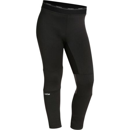 WED'ZE - 14-15 Years  Kids' Ski Base Layer Bottoms FRESHWARM - Black, Black