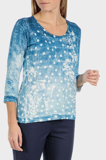 Punt Roma - Sweater with gemstones