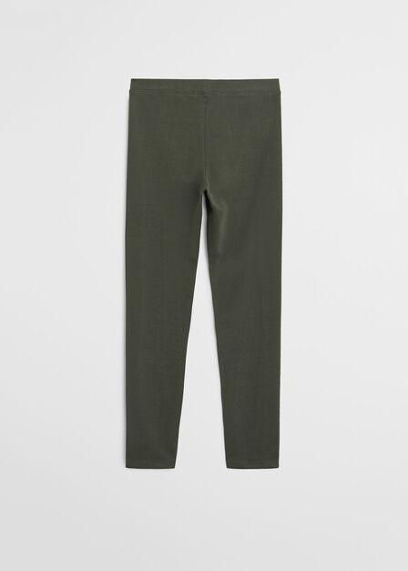 Mango - beige - khaki Organic cotton leggings
