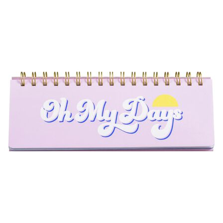 YES STUDIO - Yes Studio Oh My Days Weekly Desk Planner
