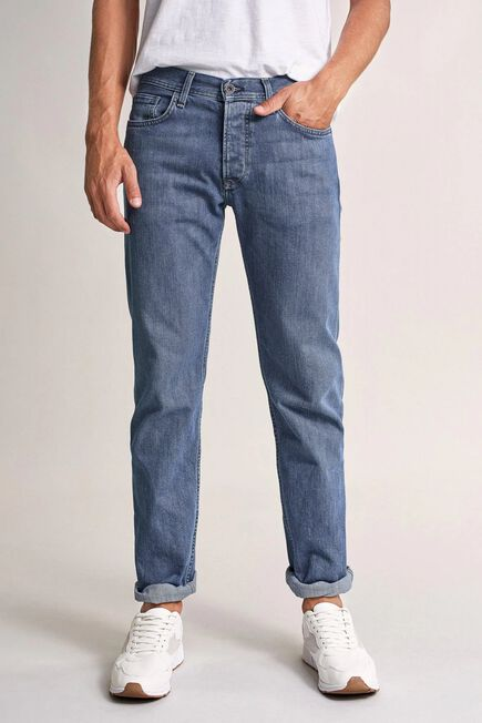 Salsa Jeans - Blue Navarro straight medium rinse jeans