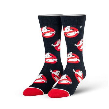 ODD SOX - Odd Sox Ghostbusters Logos Knit Men's Socks [Size 6-13]