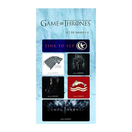 GAME OF THRONES - Game of Thrones Magnets Set A