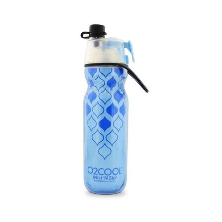 O2COOL - O2Cool Classic Elite Mist'N Sip Insulated Articsqueeze Colors 20Oz Yoga Blue