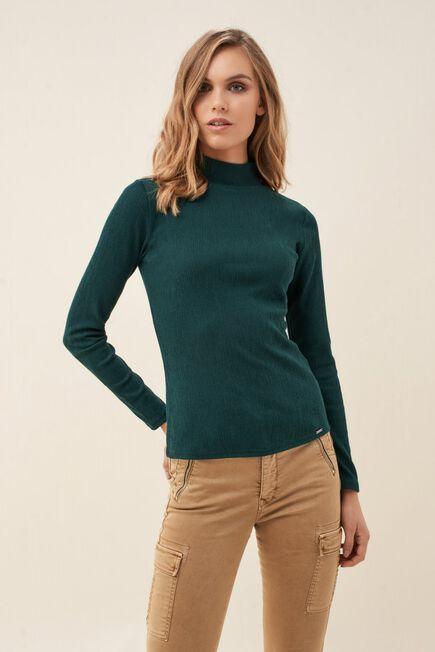 Salsa Jeans - Green High neck sweater
