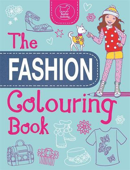 BUSTER BOOKS UK - Fashion Colouring Book