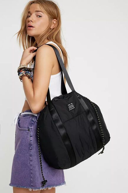 Urban Outfitters - Black UO Puffer Tote Bag
