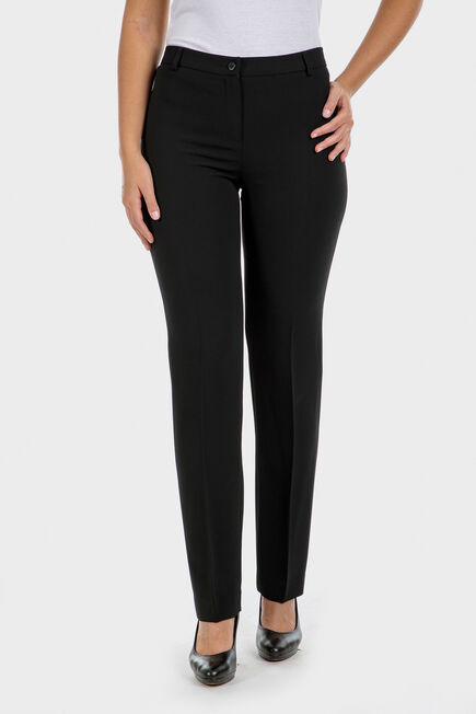 Punt Roma - Crepe trousers with elastic