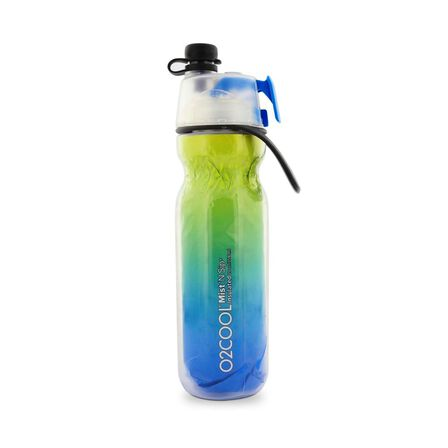 O2COOL - O2Cool Classic Elite Mist'N Sip Insulated Articsqueeze 20Oz Ombre Blue