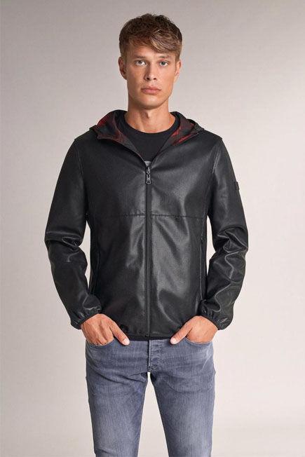 Salsa Jeans - Black Reversible nappa bomber jacket