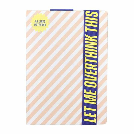 YES STUDIO - Yes Studio A5 Let Me Overthink This Notebook