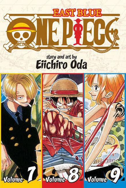 SIMON & SCHUSTER USA - One Piece East Blue 7-8-9