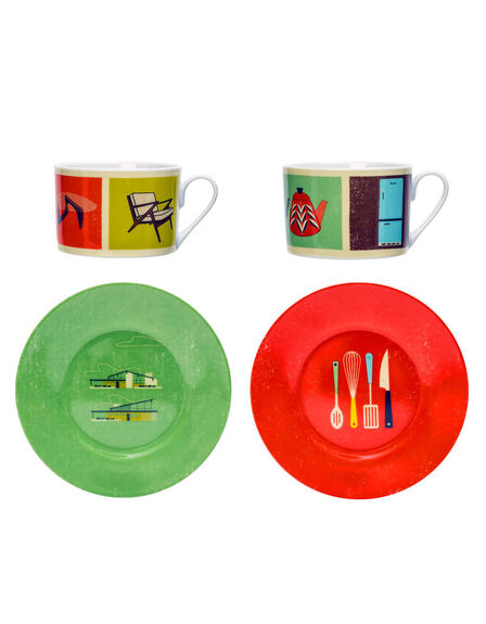 MAGPIE - Magpie The Modern Home Cups & Saucers [Set Of 2]