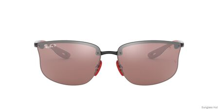RAY-BAN - Black Square Ray-Ban RB4322M SCUDERIA FERRARI COLLECTION