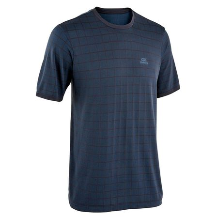 KALENJI - S Kalenji Dry+ Feel Men's Loose-Fitting Breathable Running T-Shirt - Abyss Grey