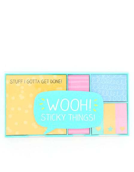 HAPPY JACKSON - Happy Jackson Wooh Sticky Things Sticky Note