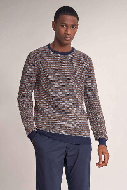 Salsa Jeans - Orange Striped effect sweater