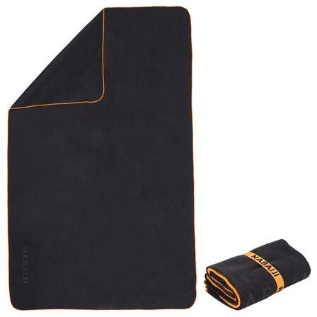 NABAIJI - XL - 110 X 175 Cm Microfibre Towel Ultra Compact - Black
