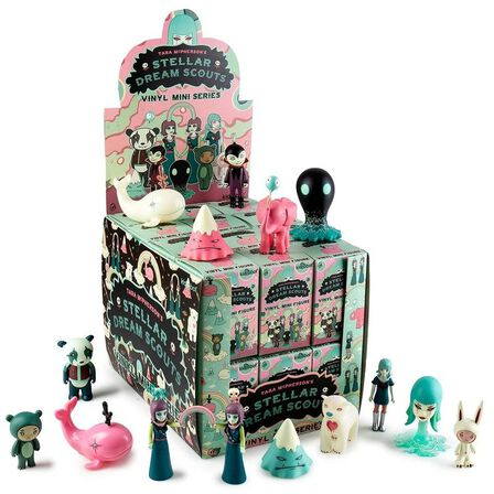 KIDROBOT - Kidrobot Stellar Dream Scouts Mini Art Figure Series By Tara Mcpherson Blind Box [Includes 1]