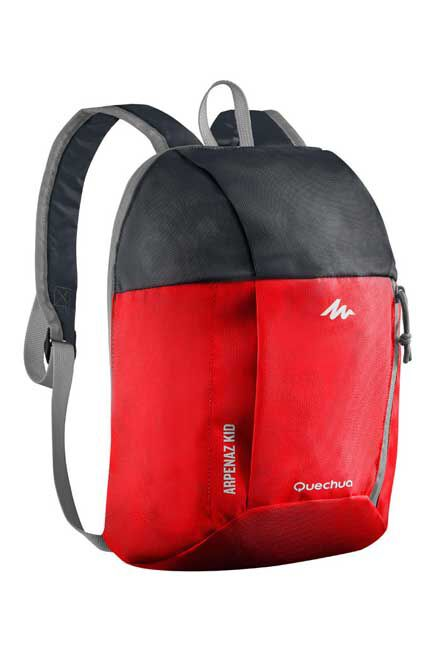 QUECHUA - Kids' hiking backpack Arpenaz 7 L - Red