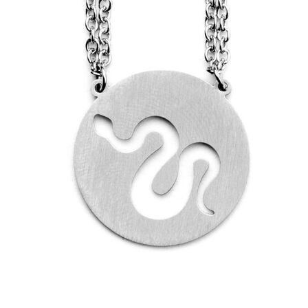 JAECI DESIGNS - Jaeci Snake Necklace Silver