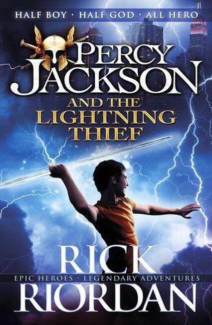 PENGUIN BOOKS UK - Percy Jackson & The Lightning Thief