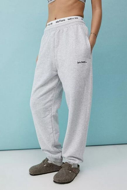 Urban Outfitters - Grey Iets Frans'.. Marl Joggers