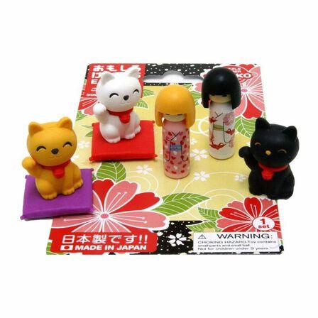 IWAKO - Iwako Doll & Lucky Cats Eraesr