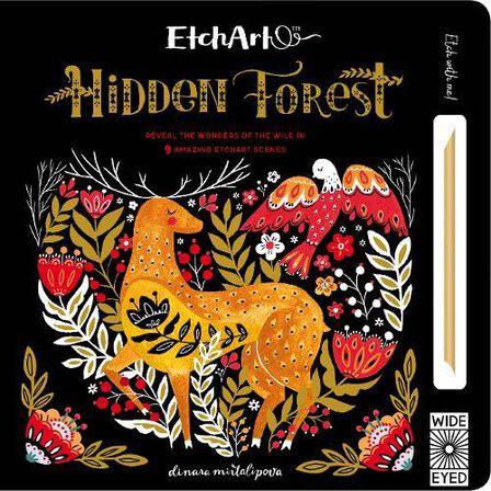 QUARTET BOOKS UK - Etchart Hidden Forest Reveal the wonders of the wild in 9 amazing Etchart scenes